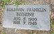 Profile photo:  Benjamin Franklin Bethune