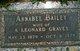 Profile photo:  Annabel <I>Bailey</I> Graves