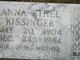Anna Ethel Kissinger