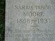 Sarah Frances <I>Ward</I> Tabor Moore