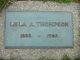 Lela Ardell <I>Wilkinson</I> Thompson