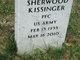 "Sherwood ""Woody"" Kissinger"