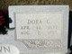 "Dorothy G ""Dora"" <I>Armitage</I> Brown"