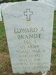 Profile photo:  Edward A Brandt