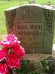Profile photo:  Dora Marie Washington