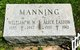 Profile photo:  Alice Marian <I>Easton</I> Manning