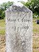 Mary E Cooke