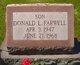 Profile photo:  Donald L Farwell