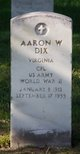 Profile photo:  Aaron W Dix