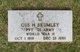 Profile photo: Pvt Gus H. Brumley