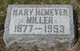 Mary Louise <I>Hemeyer</I> Miller