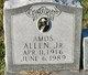 Profile photo:  Amos Allen, Jr