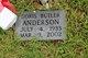 Profile photo:  Doris Hazel <I>Butler</I> Anderson