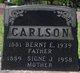 Bernt E. Carlson