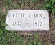 Effie L. <I>Wright</I> Allen