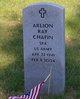 "Profile photo:  Arlion Ray ""Bud"" Chafin"