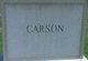 Profile photo:  Carson