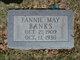 "Frances May ""Fannie"" Banks"