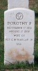Profile photo:  Dorothy Catherine <I>Byrne</I> Marlar