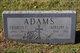 Profile photo:  Adeline A. Adams