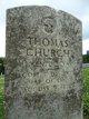 Profile photo:  Thomas Benjamin Church