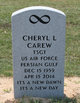Profile photo:  Cheryl L Carew