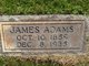 Profile photo:  James Adams