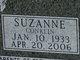 Profile photo:  Suzanne <I>Conklin</I> Sexton