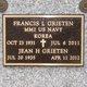 "Francis Leonard ""Frank"" Grieten"