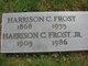 Harrison C Frost, Sr