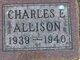 Profile photo:  Charles E Allison