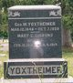 George Washington Yoxtheimer