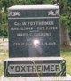 Mary Catherine <I>Gibbons</I> Yoxtheimer