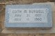 Edith Marie <I>Shetterly</I> Burwell
