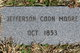 Jefferson Coon Moore