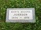 Monte Brooks Johnson