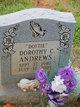 """Profile photo:  Dorothy C. """"Dottie"""" Andrews"""