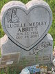 Profile photo:  Lucille Reginal <I>Medley</I> Abbitt