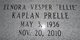 """Elnora Vesper """"Ellie"""" <I>Kaplan</I> Prelle"""