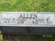 Profile photo:  Anna M <I>Davis</I> Allen