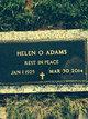 Profile photo:  Helen O. Adams