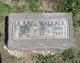 Profile photo:  A. Earl Wallace