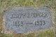 Joseph Jackson Conger