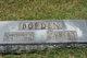 Profile photo:  Alma M. (Marian) <I>Brown</I> Borden