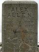 Profile photo:  Alexander Allen