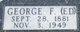 """George F Edward """"Ed"""" Anderson"""