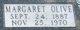 Margaret Olive <I>Hartley</I> Anderson