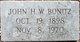 John Henry William Bonitz, Sr