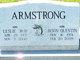 """Leslie N. """"Bud"""" Armstrong"""