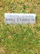 Anna Stasia <I>Mahoney</I> Lamson